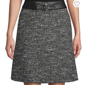 NWT Hugo Boss Tweed Mini Skirt
